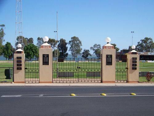Barmera Memorial Gates