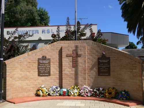 Bayswater War Memorial : 25-November-2011