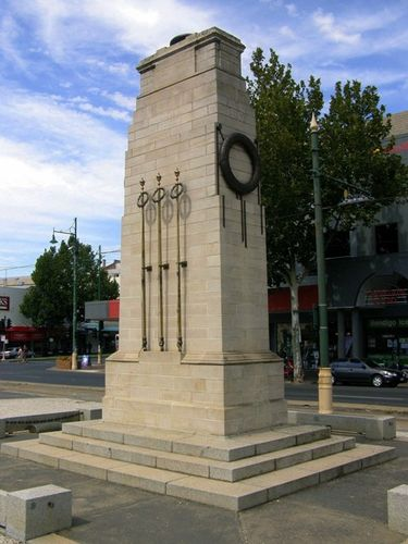 Bendigo Cenotaph : 09-March-2013
