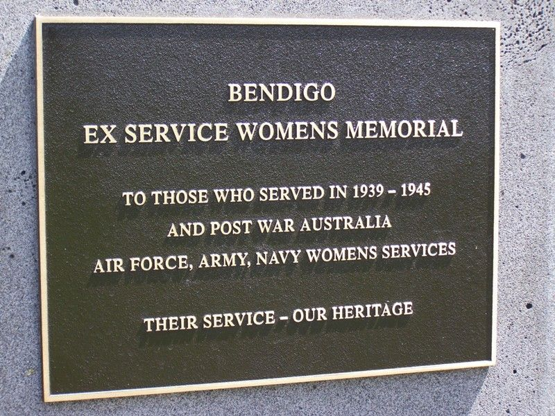 Ex-Servicewomen's Plaque : 23-October-2014