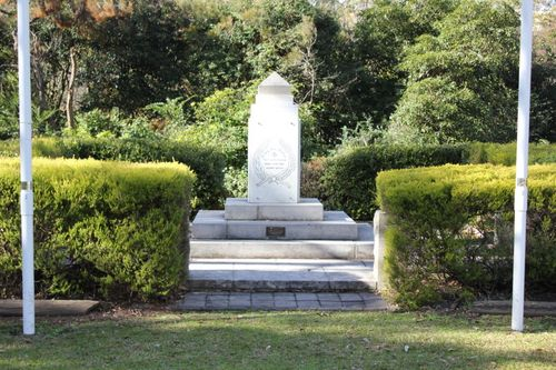 Berowra War Memorial : 04-July-2011