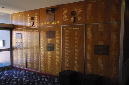 Bexley RSL Honour Roll : April 2014