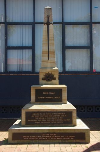 Bexley RSL War Memorial : April 2014