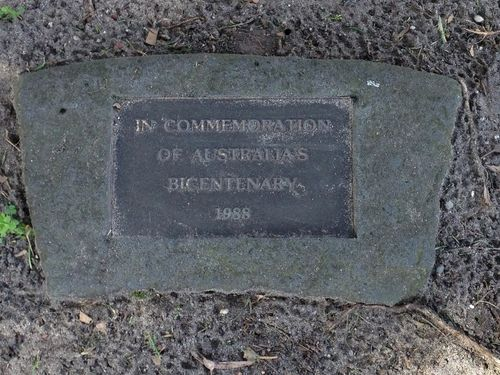 Bicentenary Plaque : June 2014