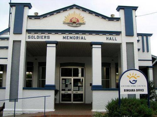 Bingara Soldiers Memorial Hall