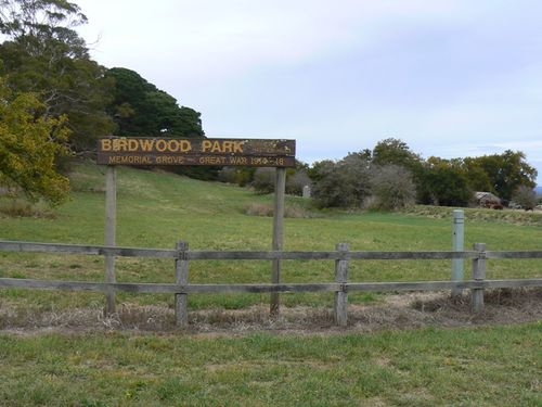 Birdwood Park Memorial Grove : 19-April-2012