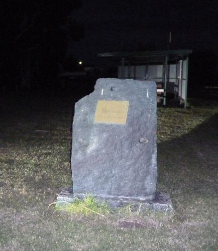 Black Stump Memorial Stone : 28-May-2011