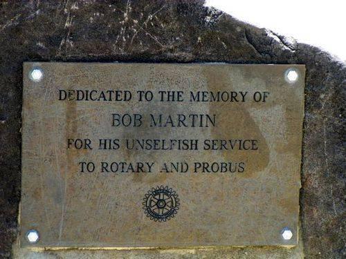 Bob Martin Plaque