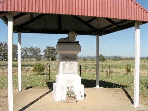 Bodangara War Memorial : 2007