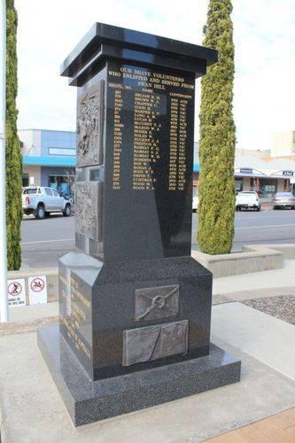Boer War Centenary Memorial : 20-September-2012