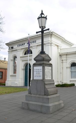 Boer War Memorial : 16-July-2012