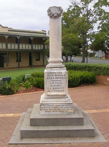 Boer War Memorial : 25-03-2014