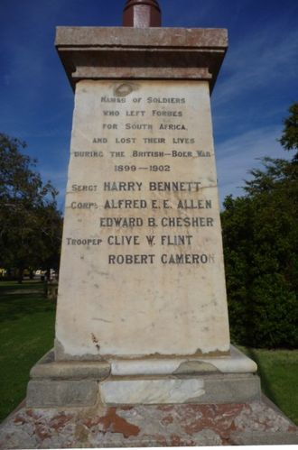 Boer War Memorial : 24-April-2011