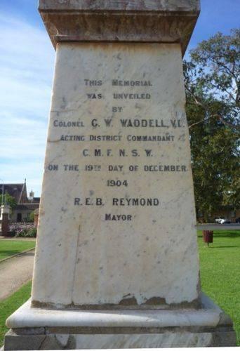 Boer War Memorial : 24-April-2011