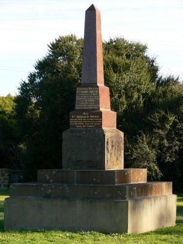 Boer War Memorial : 23-August-2011