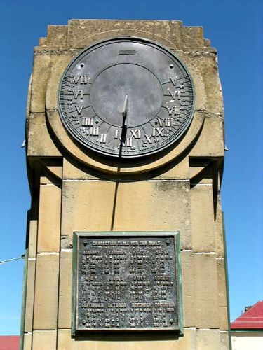 Bothwell War Memorial : 2007