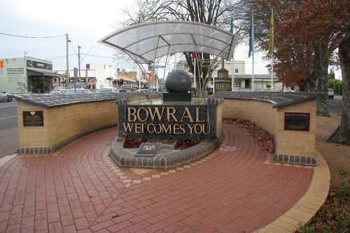 Bowral Commemorative Wall :August-2014