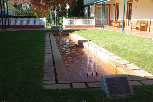 Commemorative Water Feature : August 2014