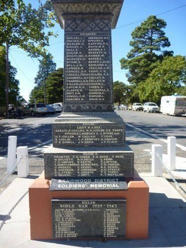 Braidwood War Memorial : 09-April-2011