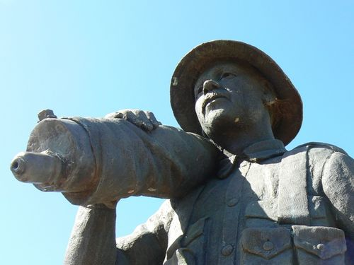 Brandon War Memorial Closeup