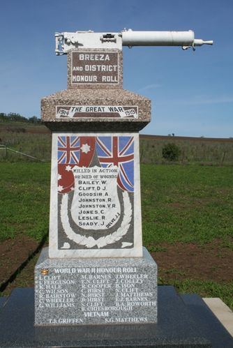 Breeza War Memorial : 08-04-2014