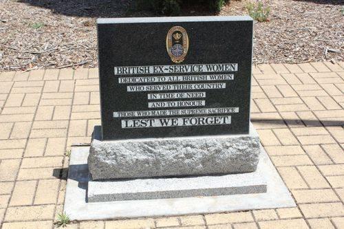 British Ex-Servicewomens Memorial : 12-December-2012