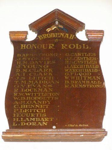 Brobenah Honour Roll : 27-03-2014