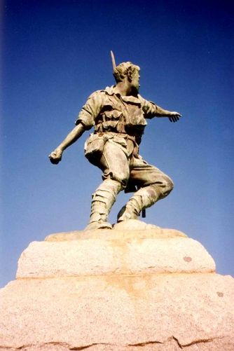 Broken Hill War Memorial Side