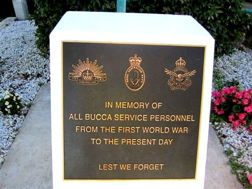 Bucca All Wars Memorial : 24-05-2011