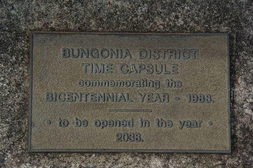 Time Capsule Plaque : August-2014