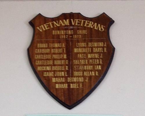 Vietnam Veterans Honour Roll : November 2013