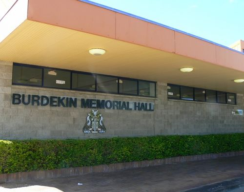 Burdekin Memorial Hall : 25-April-2011