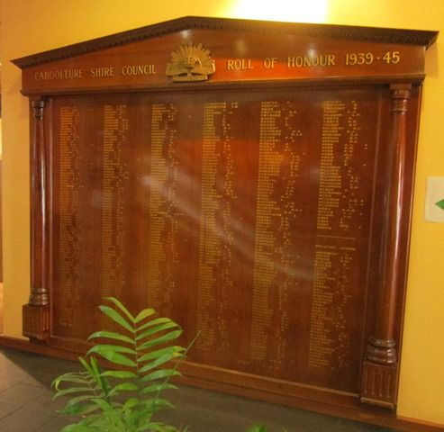 Caboolture Shire Council Roll of Honour