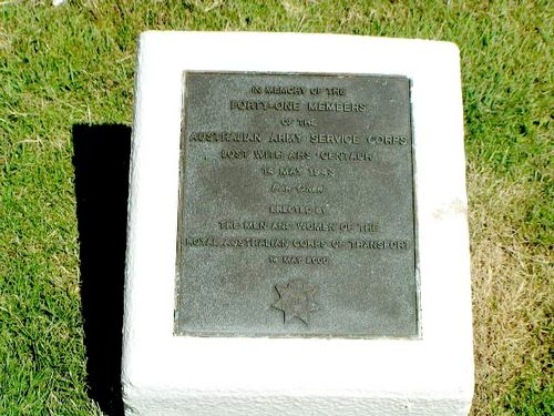 Caloundra AHS Centaur Memorial Memorial Plaque