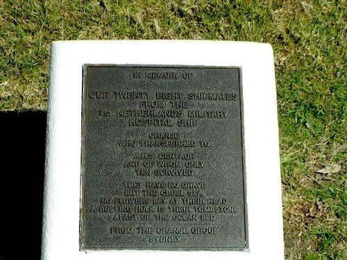 Caloundra AHS Centaur Memorial Plaque