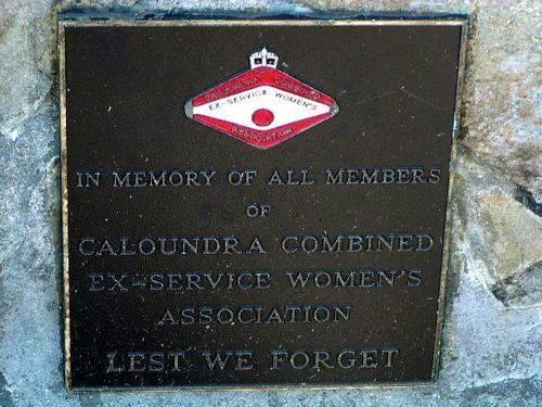 Caloundra Ex Service Women Plaque