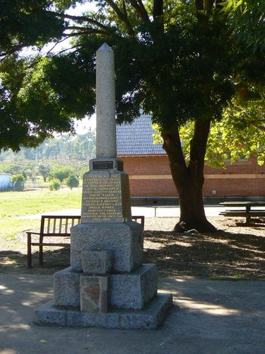 Campbells Creek Primary School War Memorial
