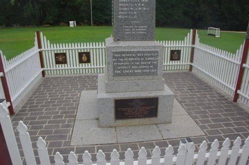Candelo War Memorial 2 : December 2013