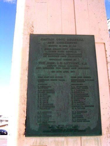 Captain Cook Plaque 1 / March 2013