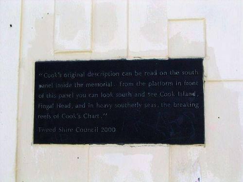Captain Cook Plaque 5 / March 2013