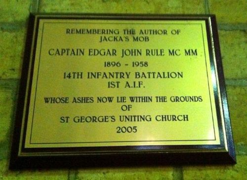 Captain Edgar John Rule : 12-July-2012