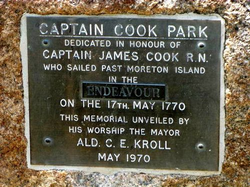 Captain James Cook Plaque