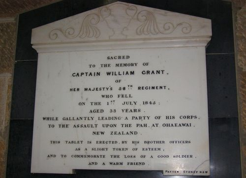 Captain William Grant : 30-August-2014
