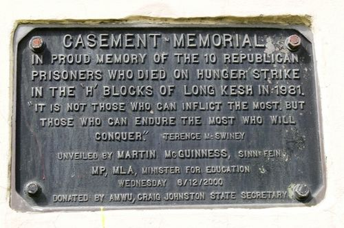 Casement Memorial : 04-October-2011
