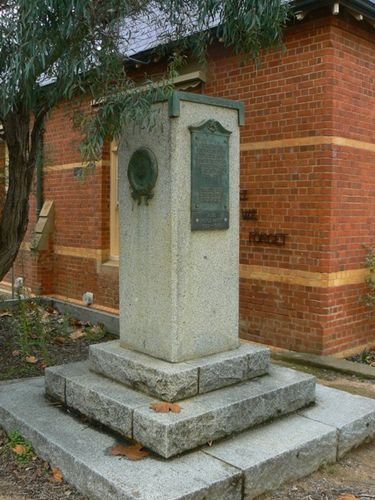 Castlemaine Primary School War Memorial : 28-May-2011