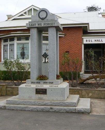 Castlemaine War Memorial : 28-May-2011