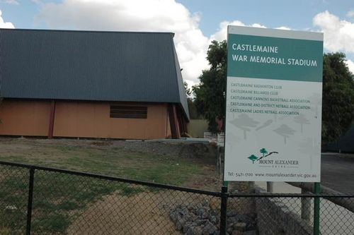 Castlemaine War Memorial Sports Stadium : 09-June-2013
