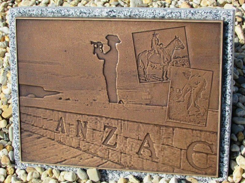 ANZAC Plaque: 07-August-2015