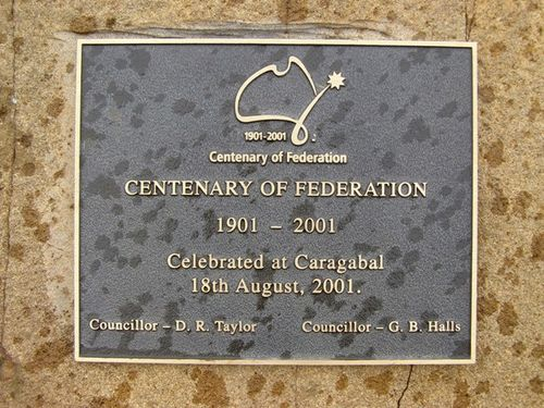 Centenary of Federation Plaque : 26-03-2014