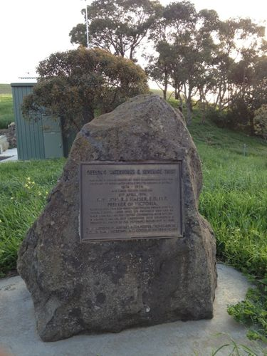 Geelong Reticulated Water Centenary Plaque : 25-09-2013